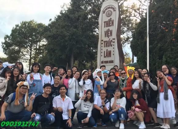 Du lịch ngoại khóa Đà Lạt trường Nguyễn Văn Bé